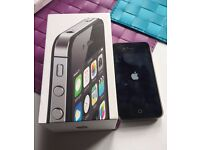 iPhone 4S, Vodaphone, Black, Boxed, Charging Cable, 8GB