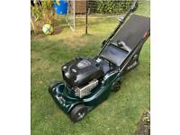Hayter harrier 41 electric start lawnmower key start