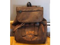 Camel Travel Bag Very Good Quality Leather