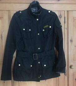 Women's size 8 Barbour waxed jacket