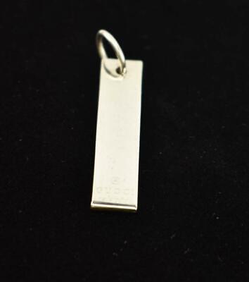 GUCCI: Silver, Metal & Logo, Pendant / Bag Charm (mq)