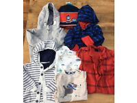 Bundle of baby boy's clothes 6 - 12 months