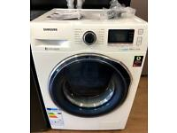 AS NEW EX DISPLAY SAMSUNG ECOBUBBLE VRT PLUS ADD WASH WASHING MACHINE 8KG 1600 SPIN BARGAIN...!!
