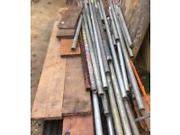 Scaffold tube and fixings for sale
