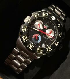 Tag Heuer Formula One Watch In Mint Condition.