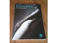 Rhianna Good Girl Gone Bad Piano/Vocal/Guitar Music Book