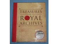 'Treasures From The Royal Archives' Hardback Book (new)