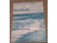 Music sheet - Sea Idylls - ten miniatures for pianoforte by Walter Carroll
