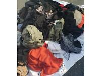 Assorted ladies clothes over 200 items