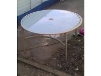 Large garden table