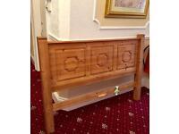 King Size 5ft Solid pine bed frame