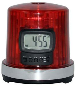 NHL-Hockey-GOAL-LIGHT-ALARM-CLOCK-w-GOAL-Horn-Sound-Flashing-LED-Lights