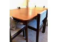 G Plan Teak Dining Table & 6 Chairs