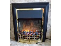 Electric fire (Dimplex Cheriton - fireplace - free standing - MINT Condition!)