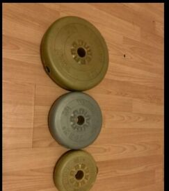 Barbells and York weight plates for sale!