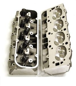 Big Block Chevy Aluminum Cylinder Heads Pair 427 454 502 Loaded New Fast Ship