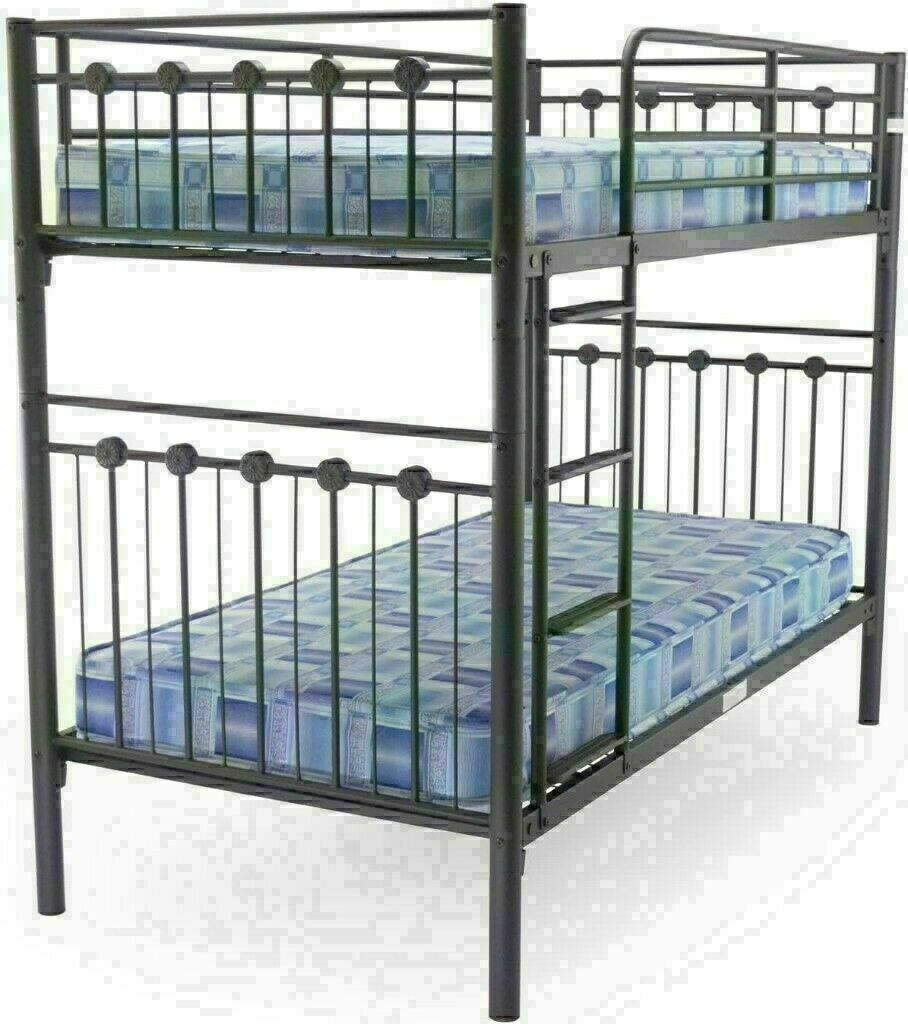Picture of: Crazy Cheap Prices On Single Double Metal Bunk Bed Frame With Choice Of Mattress In Brixton London Gumtree