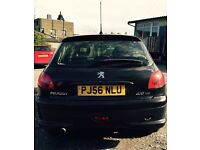 Low mileage Peugeot 206 hdi look