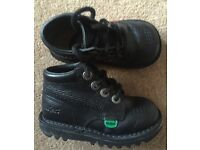 Black Kickers Boots - Infant Size 6
