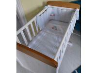 Mothercare Little Beep Beep Crib Bale