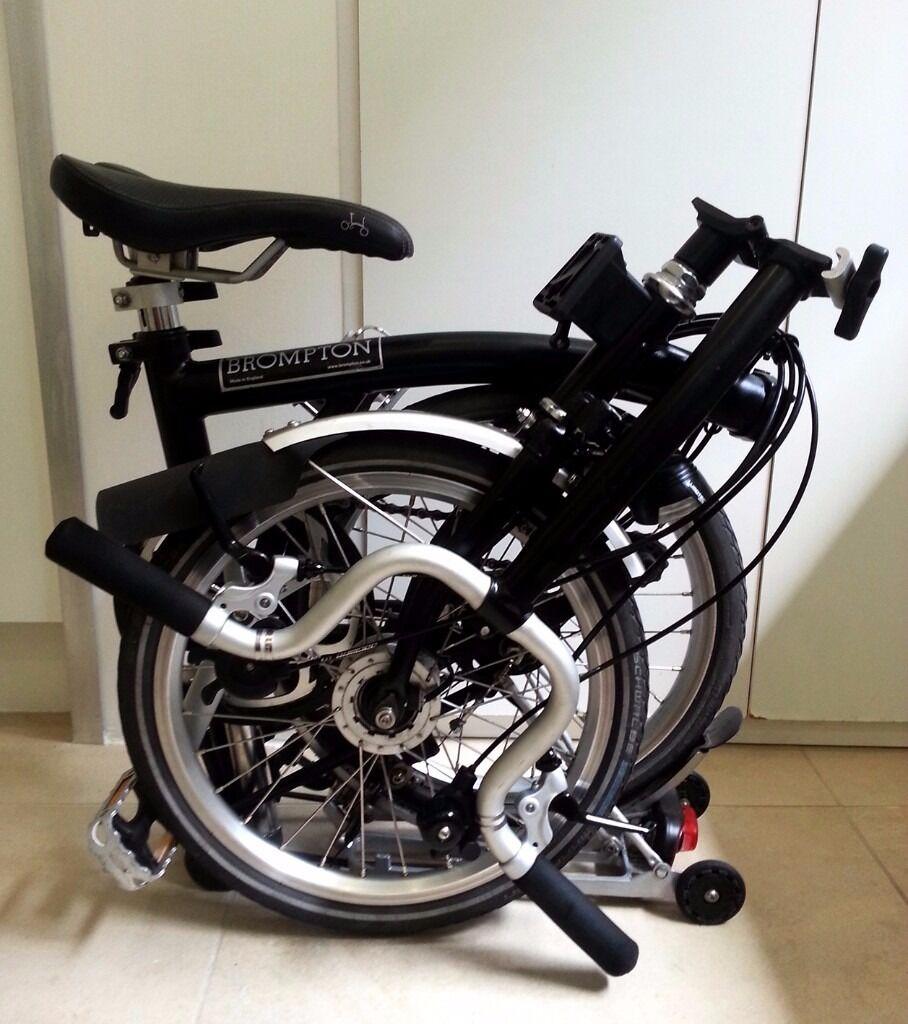 6 Speed Brompton Bike Luggage Rack Dynamo Hub Light Schwalbe