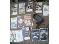 PSP for sale with lots of games
