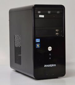 WINDOWS 7 CUSTOM INTEL CORE i3 3.10 TOWER PC COMPUTER - 4GB RAM - 1000GB HDD