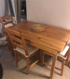 Ikea Granas Table And Four Chairs For Sale Good Condition