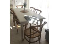 Dining Table & 6 chairs - show home item