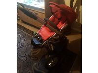 Quinny buzz and maxi cosi car seat