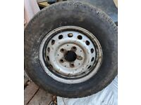 Spare Wheel from Mercedes Sprinter 225/70R15C