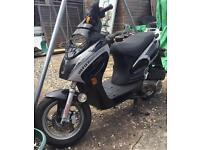 DAFIER MOTORCYCLE SCOOTER 57 PLATE BARGAIN MUST SEE LOOK !!!
