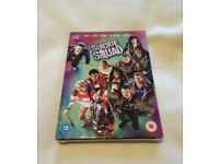 Suicide Squad DVD + ultraviolet Digital Download (2016) Brand New Sealed