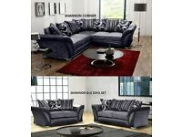 BRAND NEW SHANNON SOFA 3+2 sofas or zina corners in stock now and ready for delivery