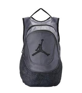 NWT $60 Nike Air Jordan Jumpman Laptop Backpack 9A1414-783 Lt Graphite & Black