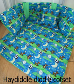New Handmade Baby Cotset Bedding Set Quilt Blanket Reversible