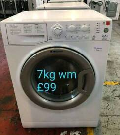 Hotpoint 7kg washing machine free delivery in Coventry