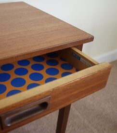 Heals of London Teak side table - solid wood, great condition