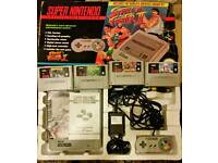 Snes (super nintendo boxed)