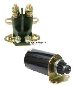 STARTER SOLENOID KITS FOR SCOTTS LAWN TRACTORS 20 25 HP BRIGGS ENGINE 399169