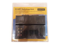 SCART multi switching box - Brand New - unopened - still sealed
