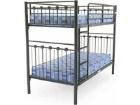 😍💕EXCLUSIVE SALE ON SINGLE SPLITABLE METAL BUNK-BED FRAME WITH CHOICE OF MATTRESS
