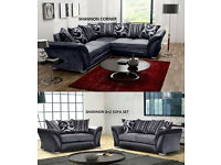 3 and 2 shannon sofas or corner sofa new in stock many more from £200 look thru the pics