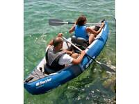 - SEVYLOR ADVENTURE 2 MAN INFLATABLE KAYAK CANOE -
