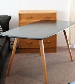 Vintage Ercol Dining Table mid Century Blue Label Refurbished....