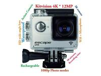 Kitvision Escape 4K UHD Action Camera * Wifi