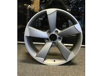 17 inch Audi TTRS style alloy wheels 5x100 VW Volkswagen SEAT Skoda