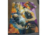 Action Man hasbro childrens boys kids single duvet cover set pillow case bedding childs bedroom