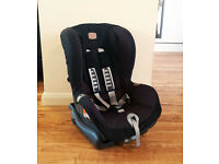 Britax Romer Duo Plus Isofix Child Car Group 1 Seat - Black - 9-18kg 1- 4 Years old
