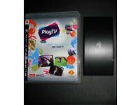 Playstation PS3 Play TV Adapter & Software